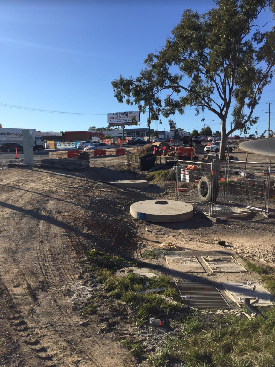OLSEN AVE ASHMORE UPGRADE ALSO BUNDALL RD UPGRADE